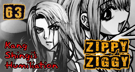 Zippy Ziggy – Vol.9 Ch.63: Kang Shingi's Humiliation
